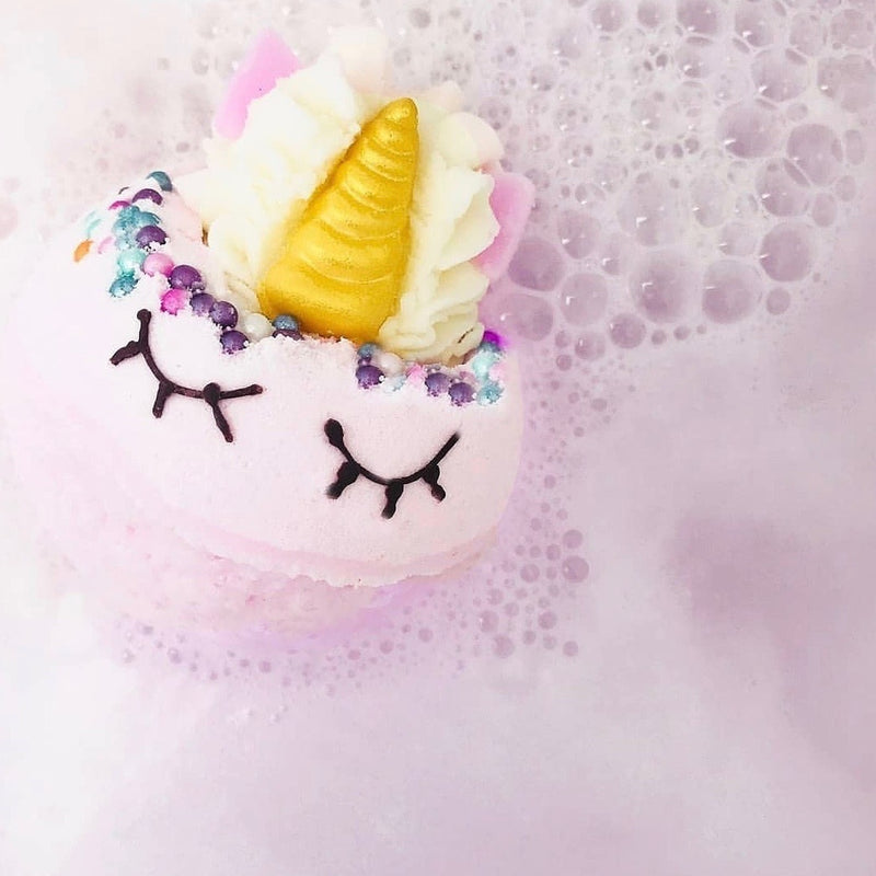 Bomb Cosmetics UK The Last Unicorn Bath Blaster - Le Petite Putti