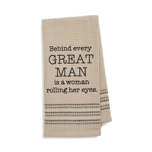Dry Wit Towel - Great Man