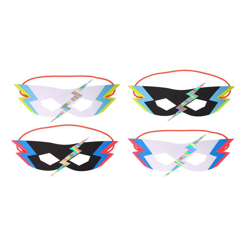 "Superhero ""Zap"" Party Masks-Party Supplies-MM-Meri Meri UK-Putti Fine Furnishings"