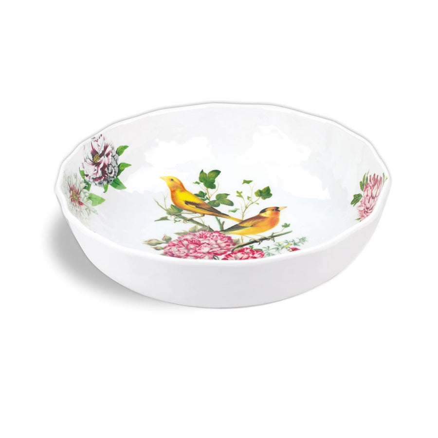 Michel Design Works Garden Melody Melamine Bistro Bowl