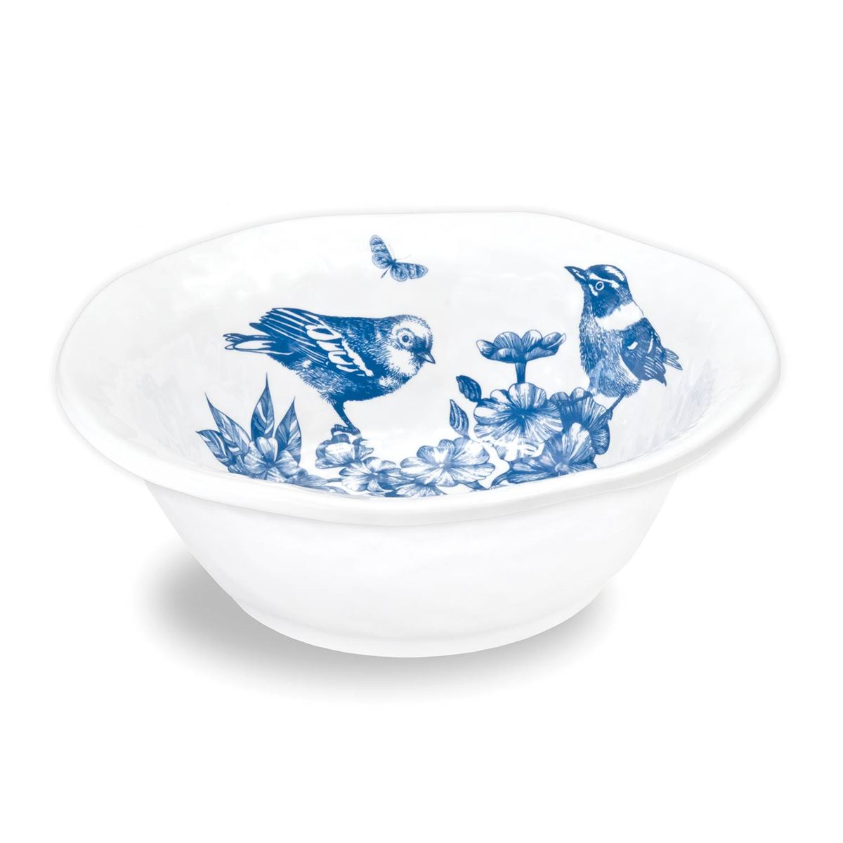 Michel Design Works Indigo Cotton Melamine Medium Bowl