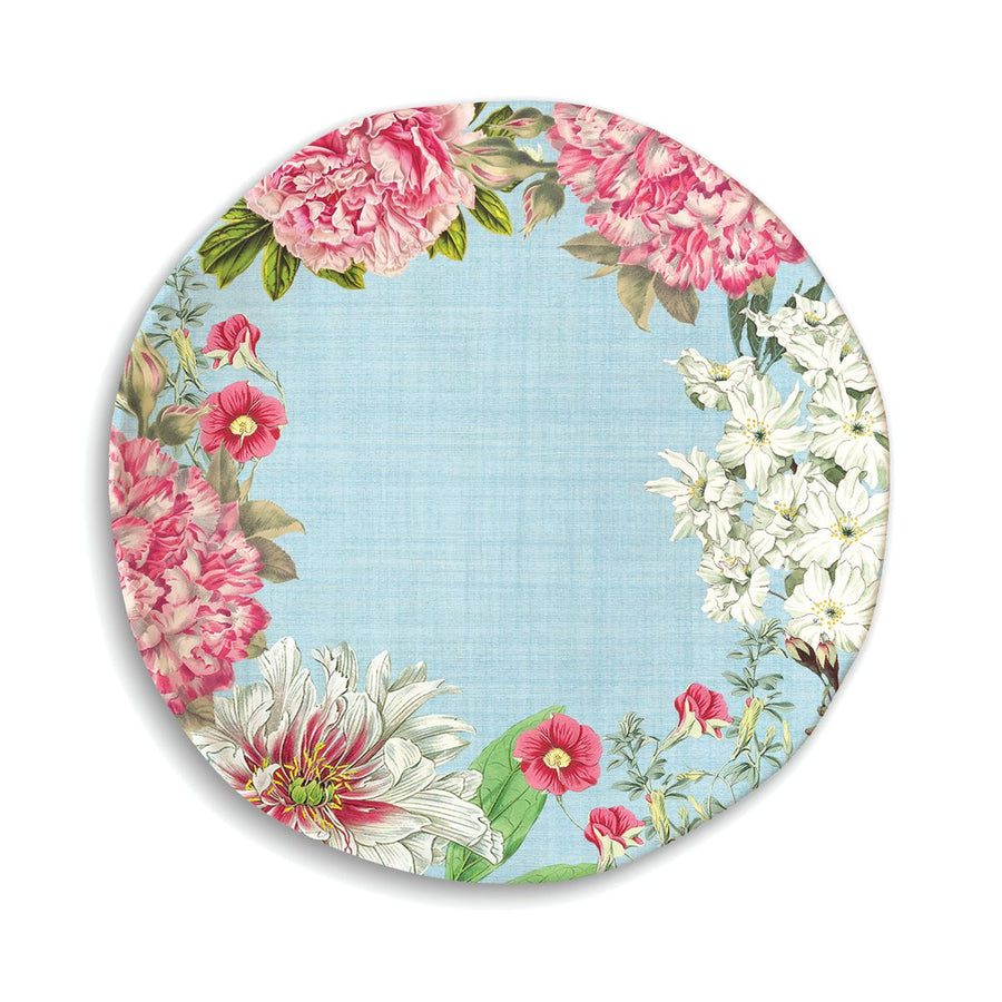 Michel Design Works Garden Melody Melamine Dinner Plate