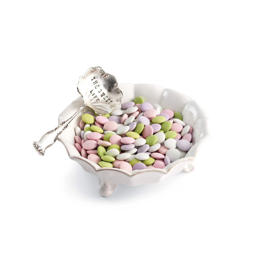 """The Sweet Life"" Candy Dish & Spoon"