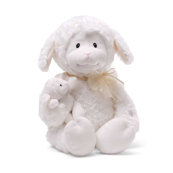 "Baby Gund - Talking ""Nursery Time"" Lamb -  Plush Toys - Gund - Putti Fine Furnishings Toronto Canada - 1"