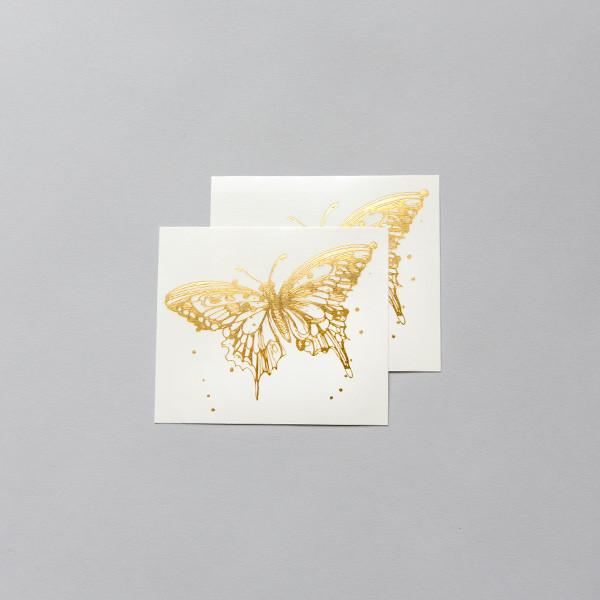 Tattly Temporary Tattoos - Gold Butterfly, TTT- Tattly Temporary Tattoos, Putti Fine Furnishings