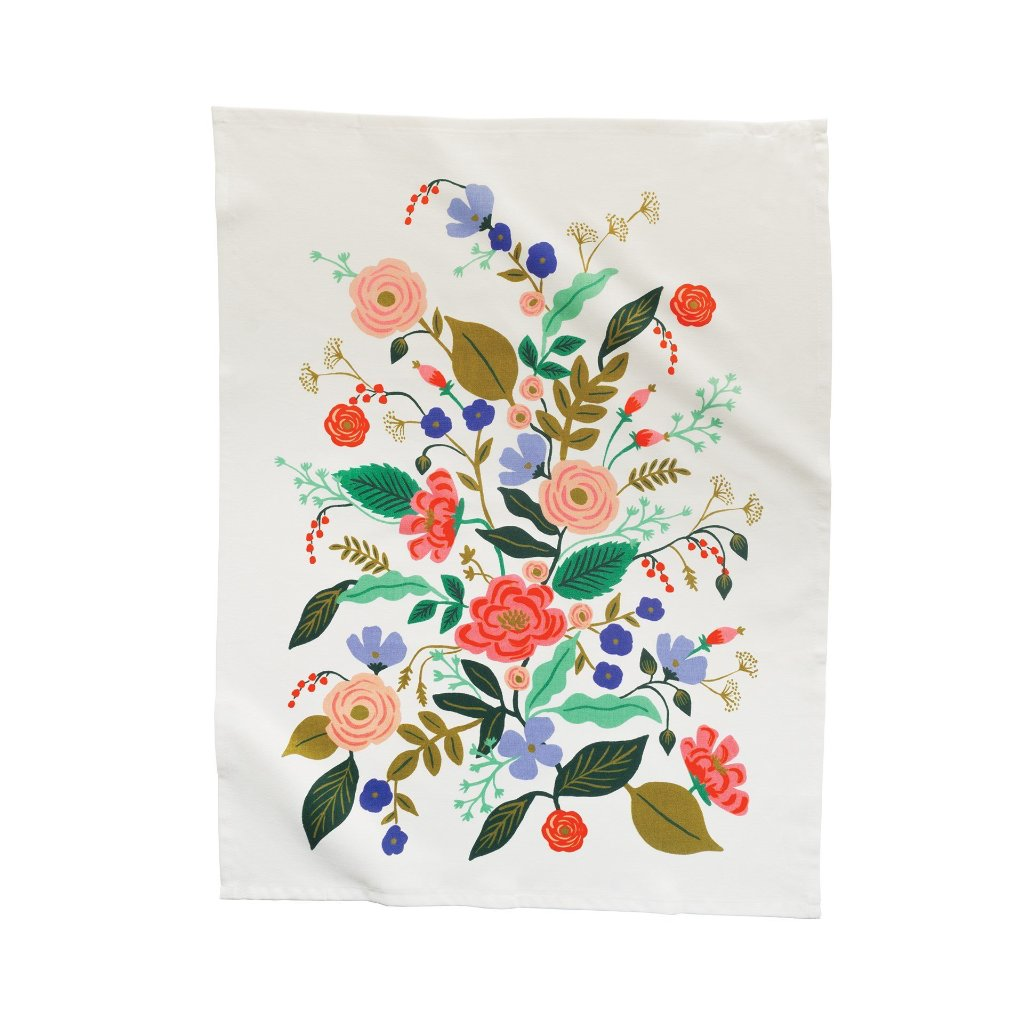 Rifle Floral Vines Tea Towel | Putti Fine Furnishings