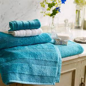 Designers Guild Coniston Turquoise Towels