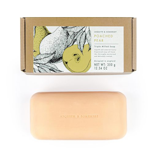 Asquith & Somerset Poached Pear Spice Soap