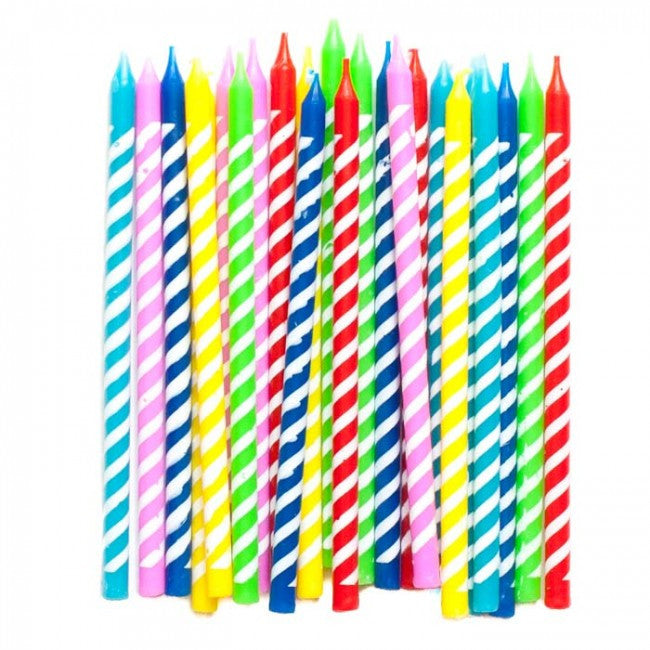 Meri Meri Bright Birthday Candles -  Party Supplies - Meri Meri UK - Putti Fine Furnishings Toronto Canada - 1