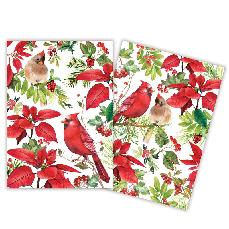 Michel Design Works Poinsettia Kitchen Towel set of 2 | Putti Christmas