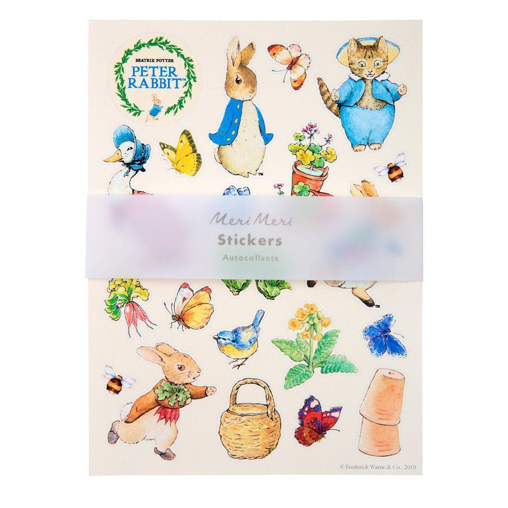 Meri Meri Peter Rabbit Sticker Sheets |  Le Petite Putti Canada