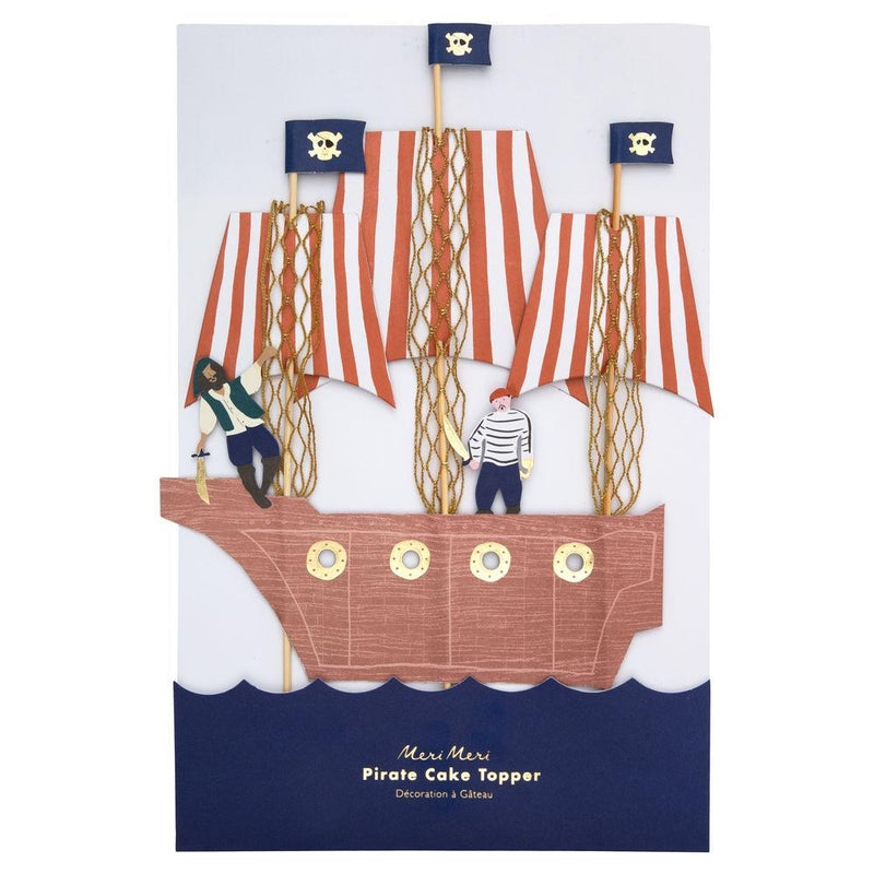 Meri Meri Pirates Bounty Cake Topper | Le Petite Putti