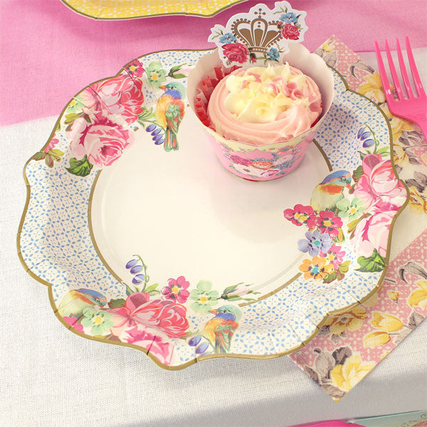 Truly Scrumptious Pretty Medium Plates -  Party Supplies - Talking Tables - Putti Fine Furnishings Toronto Canada - 2