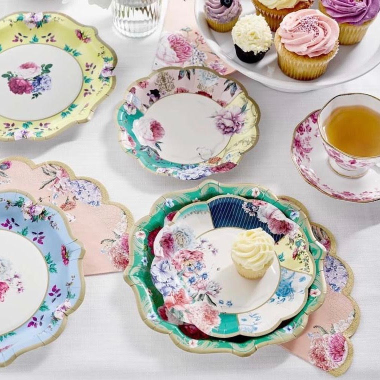 Truly Scrumptious Floral Small Plates