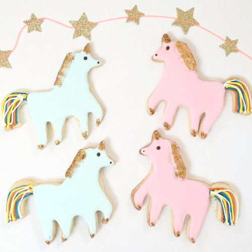 "Meri Meri ""I Believe in Unicorns"" Cookie Cutter"