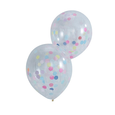 Confetti Filled Balloons -  Party Supplies - Ginger Ray UK - Putti Fine Furnishings Toronto Canada - 1