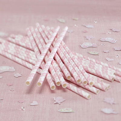 Princess Party - Paper Straws, GR-Ginger Ray UK, Putti Fine Furnishings