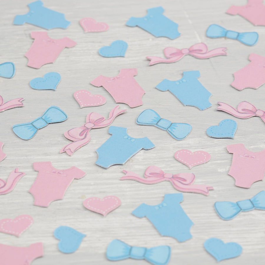 Pink and Blue Baby Grow Table Confetti, GR-Ginger Ray UK, Putti Fine Furnishings
