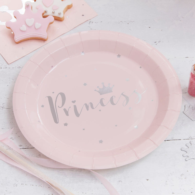 """Princess Perfection"" Paper Plates"
