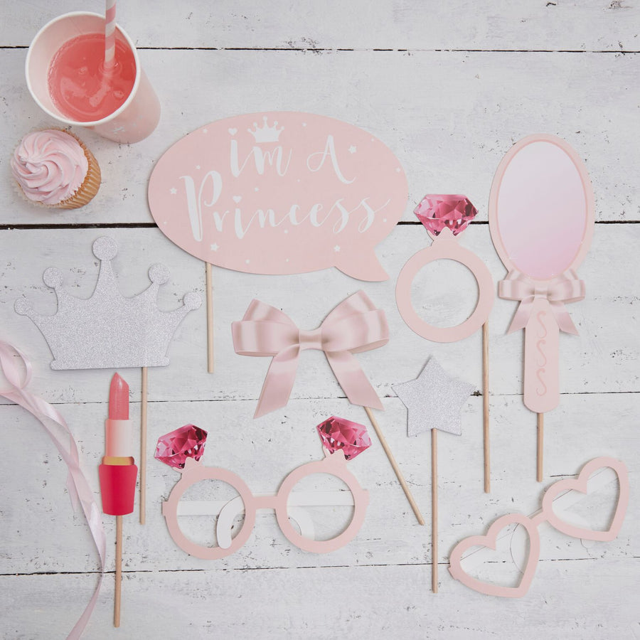 """Princess Perfection"" Photo Booth Props"