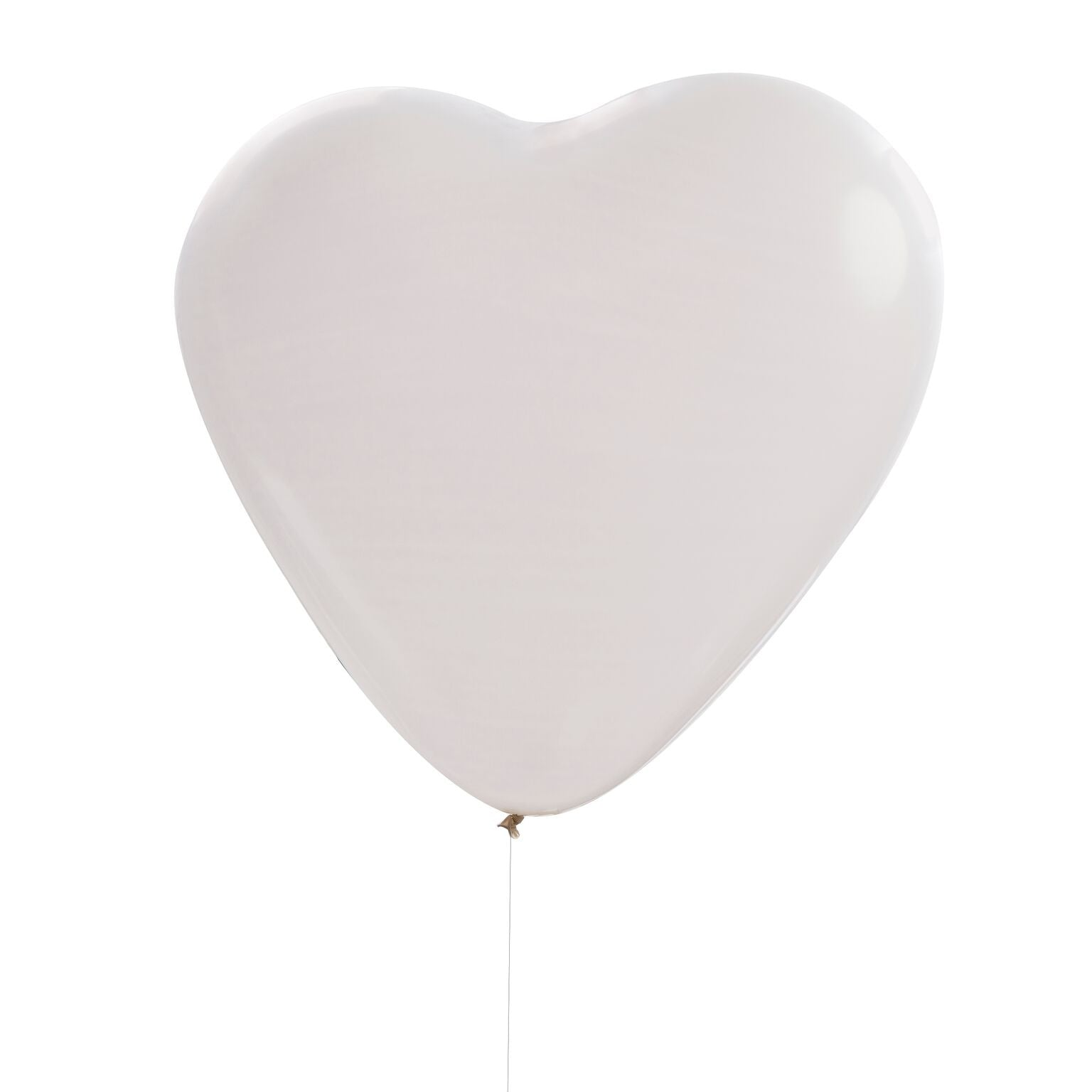 Huge White Heart Balloons, GR-Ginger Ray UK, Putti Fine Furnishings