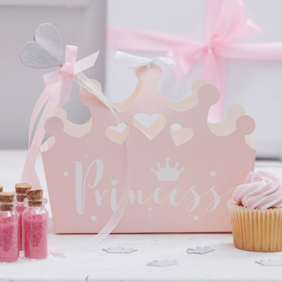 """Princess Perfection"" Crown Party Boxes"