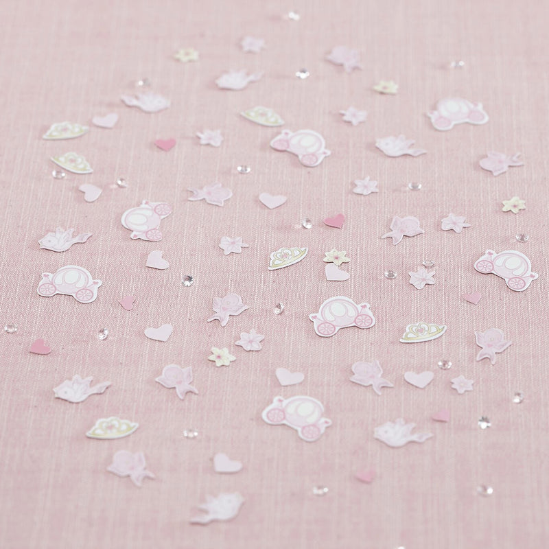 Princess Tiara and Crystal Party Confetti
