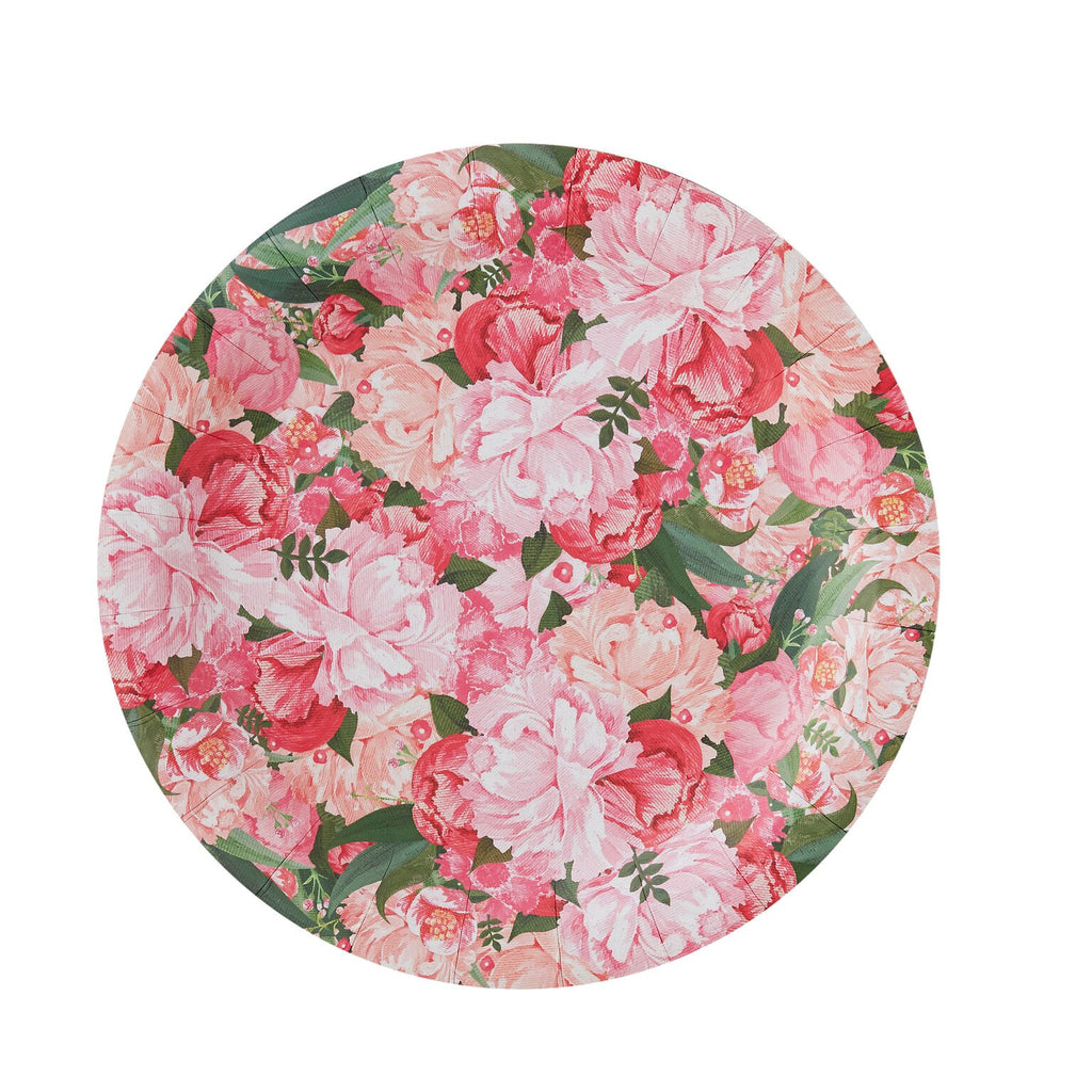 ... \ Boho\  Floral - Paper Plates - Party Supplies - Ginger Ray UK - Putti; \  ...  sc 1 st  Putti & Boho\