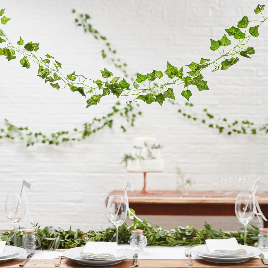 """Beautiful Botanics"" Ivy Wedding And Party Decorative Garland"