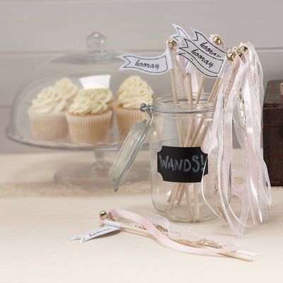 """A Vintage Affair"" Wedding Wands - Pink, GR-Ginger Ray UK, Putti Fine Furnishings"