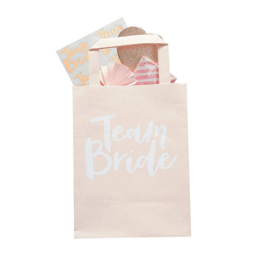 """Team Bride"" Favour Bags, GR-Ginger Ray UK, Putti Fine Furnishings"