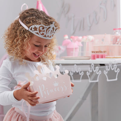 """Princess Perfection"" Crown Party Boxes, GR-Ginger Ray UK, Putti Fine Furnishings"