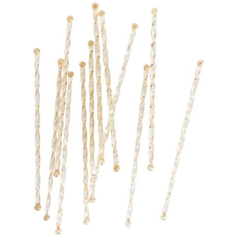 Happy Hour Gold Twisted  Retro Cocktail Stirrers, PP-Party Partners - Estelle Gifts, Putti Fine Furnishings