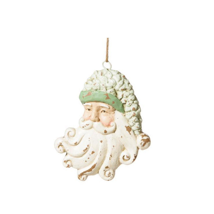 Vintage Paperstone Santa Head, FDI-Floridus Design Images, Putti Fine Furnishings