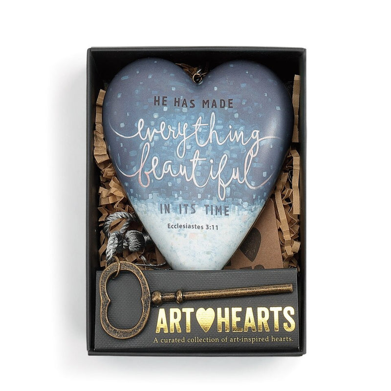 """Beautiful"" Art Heart"