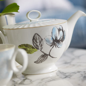 Designers Guild Watelet Tea Pot -  Tableware - Designers Guild - Putti Fine Furnishings Toronto Canada - 1