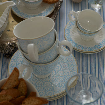 Designers Guild Watelet Teacup and Saucer