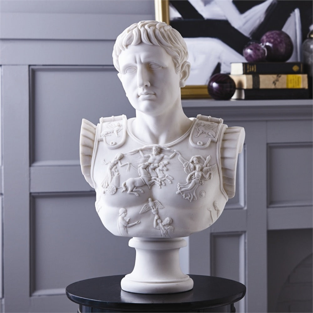 Tozai Ceasar Bust, TH-Tozai Home, Putti Fine Furnishings