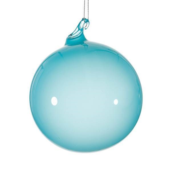 "Jim Marvin ""Bubblegum"" Ornament - 3"" Light Turquoise"