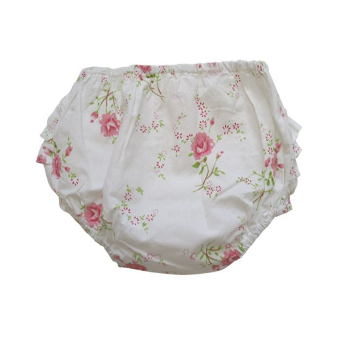 Pink Rose Frilly Knickers, PC-Powell Craft Uk, Putti Fine Furnishings