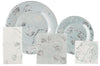 Michael Aram Botanical Leaf Paper Dinner Plates -  Paper Napkin - Madhouse - Putti Fine Furnishings Toronto Canada - 3
