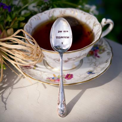 """You are TEAriffic"" Vintage Tea Spoon"