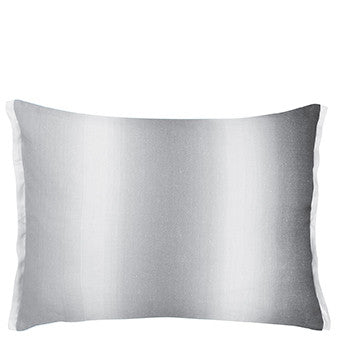 Designers Guild Yuzen Graphite Cushion-Pillow-DG-Designers Guild-Graphite-Putti Fine Furnishings
