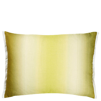 Designers Guild Yuzen Moss Cushion Sale -50%-Pillow-DG-Designers Guild-Moss-Putti Fine Furnishings
