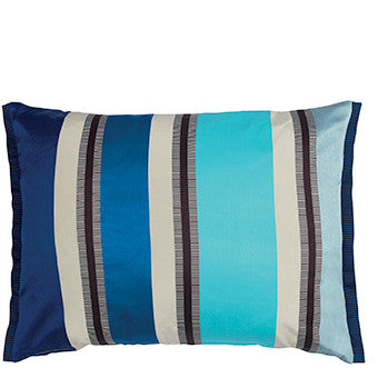 Designers Guild Zetani Cobalt Cushion-Pillow-DG-Designers Guild-Cobalt-Putti Fine Furnishings