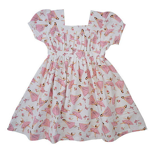 """Darcey"" Ballerina Print Dress"
