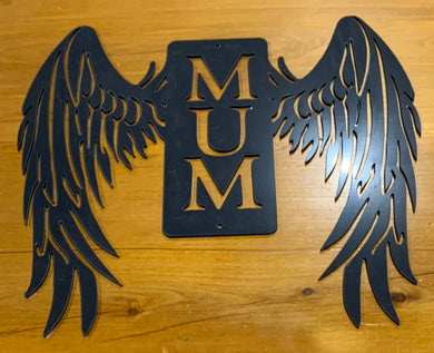 Angel Wings - Mum