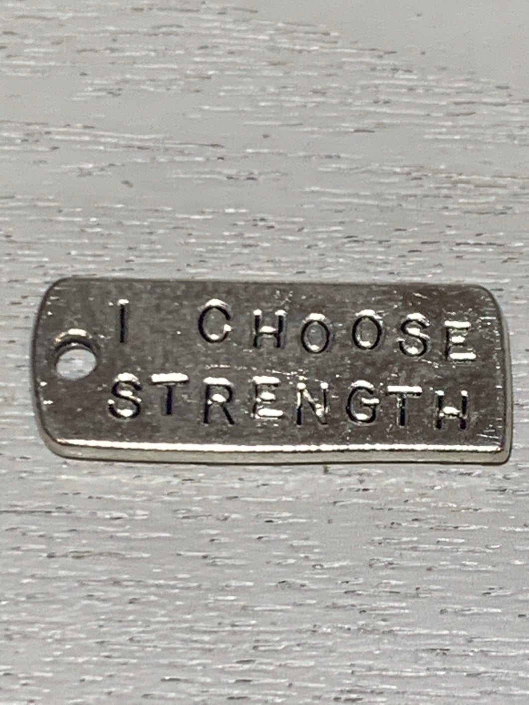 I choose strength