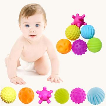 4/6pcs/Set Sensory Science Balls Toy