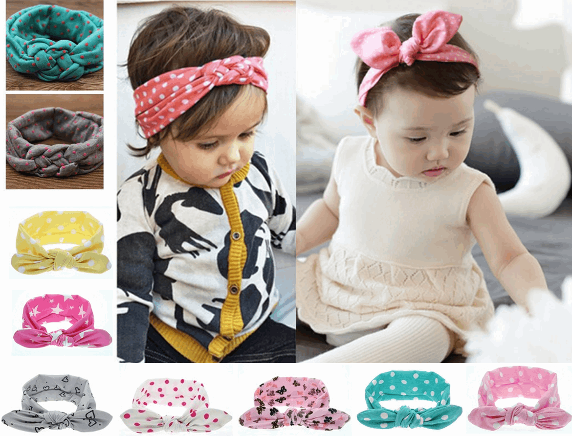 Newbabychic Stretchy Stylish Headband (over 60 designs!)